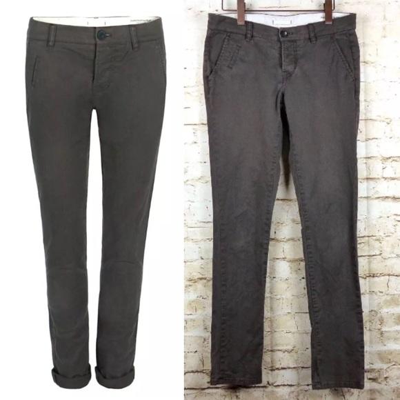 058e36d1c330a All Saints Pants - All Saints Womens Brown Filter Skinny Chino Pants